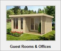 guest rooms garden offices - Garden Sheds Ni