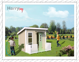 Harry playhouse for children - Woodpecker Log Cabins