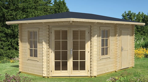 Summer house and storage