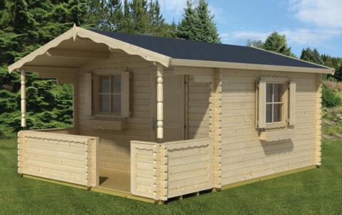 Corsica Chalet style garden cabin
