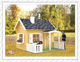 Otto playhouse for children - Woodpecker Log Cabins
