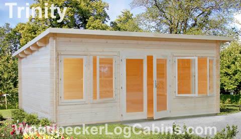 Trinity Log Cabin 19.3sqm