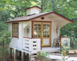 Large range of Log cabins and garden sheds for sale